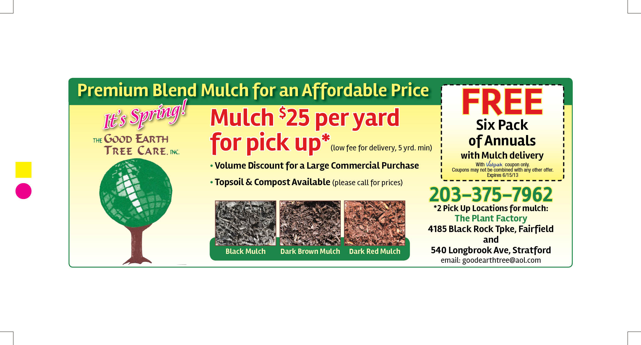 Home bulk mulch top soil compost for Gardening naturally coupon
